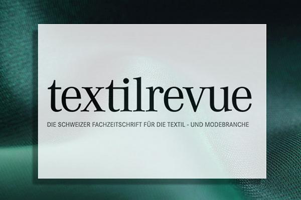 textilrevue.ch lobt den Weg der Inogema Produktpalette